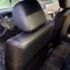 Чехлы для Mitsubishi Lanser 9 из черной экокожи №6