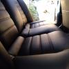 Чехлы для Mitsubishi Lanser 9 из черной экокожи №7
