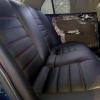 Чехлы для Mitsubishi Lanser 9 из черной экокожи №8