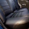 Чехлы для Mitsubishi Lanser 9 из черной экокожи №9