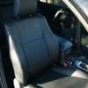 Чехлы из черной экокожи для Toyota Land Cruiser Prado №2