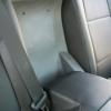 Чехлы из черной экокожи для Toyota Land Cruiser Prado №12