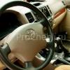 Чехлы для Land Cruiser Prado 120 из бежевой экокожи №2