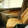 Чехлы для Land Cruiser Prado 120 из бежевой экокожи №3