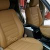 Чехлы для Land Cruiser Prado 120 из бежевой экокожи №5