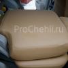 Чехлы для Land Cruiser Prado 120 из бежевой экокожи №7