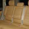 Чехлы для Land Cruiser Prado 120 из бежевой экокожи №11