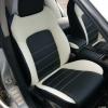 """Черно-белые авточехлы для Subaru Legacy с сиденьями """"Recaro"""" №1"""