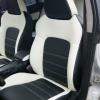 """Черно-белые авточехлы для Subaru Legacy с сиденьями """"Recaro"""" №3"""