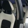 """Черно-белые авточехлы для Subaru Legacy с сиденьями """"Recaro"""" №4"""
