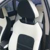 """Черно-белые авточехлы для Subaru Legacy с сиденьями """"Recaro"""" №5"""