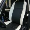 Черно-белые чехлы для Land Rover Freelander II №1
