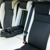 Черно-белые чехлы для Land Rover Freelander II №2