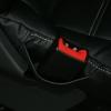 Чехлы из черной экокожи уровня перетяжки салона Mercedes Vito №12