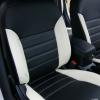 Черно-белые авточехлы для Mitsubishi Asx