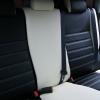 Черно-белые авточехлы для Mitsubishi Asx №1