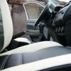 Черно-белые авточехлы для Mitsubishi Asx №3