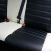 Черно-белые авточехлы для Mitsubishi Asx №7