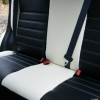 Черно-белые авточехлы для Mitsubishi Asx №8