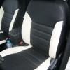 Черно-белые авточехлы для Mitsubishi Asx №16