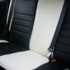 Черно-белые авточехлы для Mitsubishi Asx №17