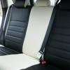 Черно-белые авточехлы для Mitsubishi Asx №18