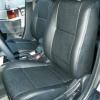 Черные чехлы для сидений Mitsubishi Lancer 10