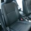 Черные чехлы для сидений Mitsubishi Lancer 10 №1