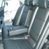 Черные чехлы для сидений Mitsubishi Lancer 10 №6