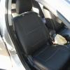 Авточехлы с белой строчкой для Mitsubishi Lancer 10