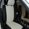 Черно-белые авточехлы для Mitsubishi Lancer 10 №1