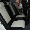 Черно-белые авточехлы для Mitsubishi Lancer 10 №2