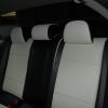 Черно-белые авточехлы для Mitsubishi Lancer 10 №3