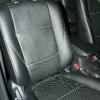 Чехлы из черной экокожи с перфорацией для Mitsubishi Outlander №2