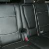 Чехлы из черной экокожи с перфорацией для Mitsubishi Outlander №4