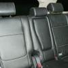 Чехлы из черной экокожи с перфорацией для Mitsubishi Outlander №5