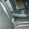 Чехлы из черной экокожи с перфорацией для Mitsubishi Outlander №8