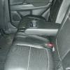 Чехлы из черной экокожи с перфорацией для Mitsubishi Outlander №9