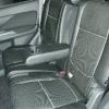 Чехлы из черной экокожи с перфорацией для Mitsubishi Outlander №10