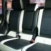 Топовые черно-белые авточехлы для Mitsubishi Pajero 2011 года №11