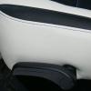 Топовые черно-белые авточехлы для Mitsubishi Pajero 2011 года №13