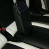 Топовые черно-белые авточехлы для Mitsubishi Pajero 2011 года №15
