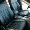 Чехлы для Ford Mondeo 4 из черной экокожи №2