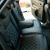Чехлы для Ford Mondeo 4 из черной экокожи №6