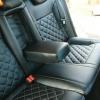Чехлы для Ford Mondeo 4 из черной экокожи №7