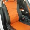 Оранжевые автомобильные чехлы для Nissan Juke Фото 1