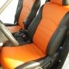 Оранжевые автомобильные чехлы для Nissan Juke Фото 2
