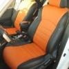 Оранжевые автомобильные чехлы для Nissan Juke Фото 3