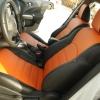 Оранжевые автомобильные чехлы для Nissan Juke Фото 4