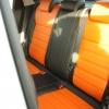 Оранжевые автомобильные чехлы для Nissan Juke Фото 5